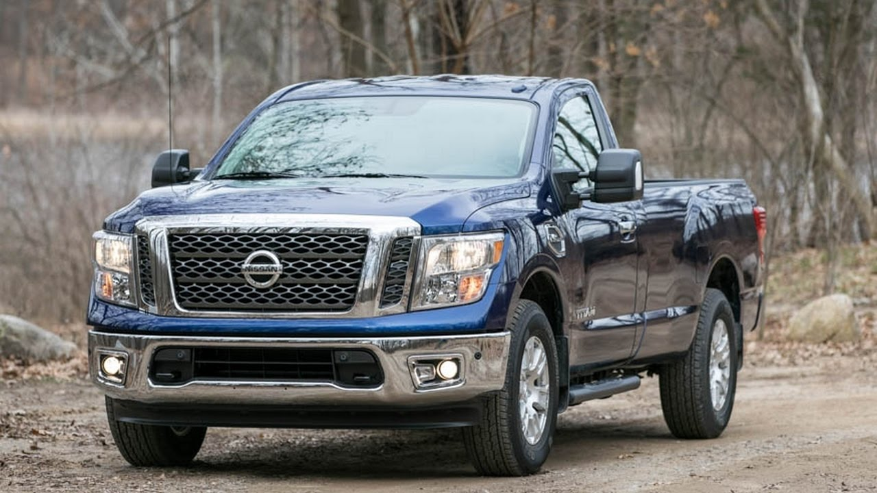 2017 Nissan An V 8 4x4 Single Cab Review
