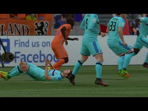 FIFA 17 | Nederland - Feyenoord (afscheid Dirk Kuyt bij Oranje)
