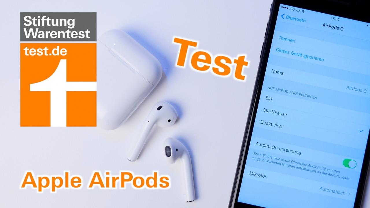 test apple airpods so gut sind die kabellosen bluetooth. Black Bedroom Furniture Sets. Home Design Ideas