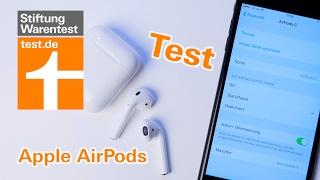 Test Apple AirPods: So gut sind die kabellosen Bluetooth-Kopfhörer im Klang und in der Praxis