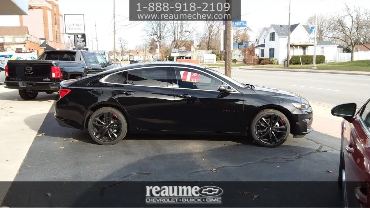 ReaumeChev NEW 2018 Chevrolet Malibu LT Sedan 'Redline Edition' 180270