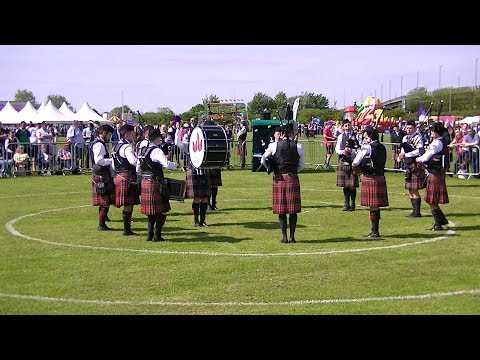 UNIVERSITY OF BEDFORDSHIRE PIPE BAND AT BRITISH PIPE BAND CHAMPIONSHIPS 2018