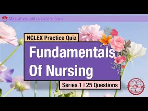 NCLEX Practice Quiz Fundamentals of Nursing Series 1