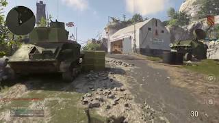 Call of Duty WWII: Game play #3 Team Death Match