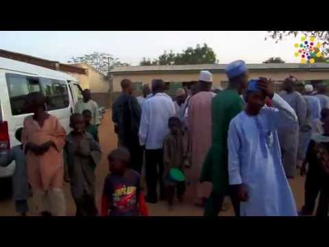 Meeting the Traditional Rulers of Kabo Village: February 2015