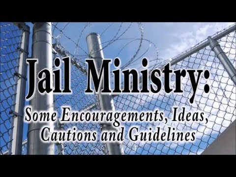 Jail Ministry Training - Part 3
