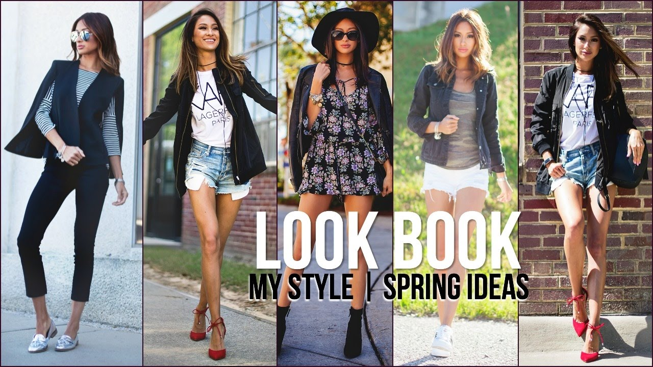 Spring Look Book 2017 My Style Affordable Fashion Youtube