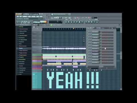 Usher - Yeah Remake with FL Studio 10 (with ACAPELLA) FREE FLP FILE!!!  **BEST ON YOUTUBE**