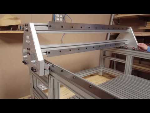DIY CNC Router Gantry Assembly