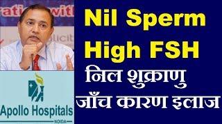 Nil Sperm High FSH Follicle Stimulating Hormone Luteinizing Hormone LH Treatment options