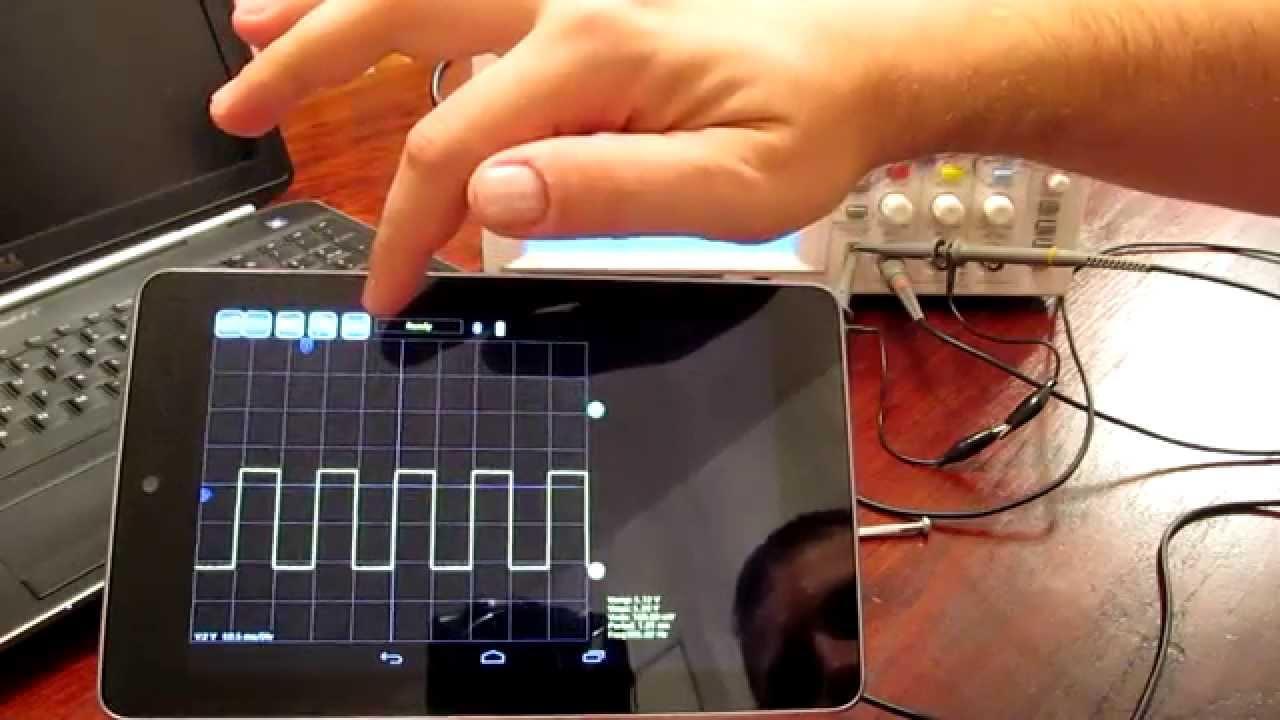 OscBox - Bluetooth Oscilloscope