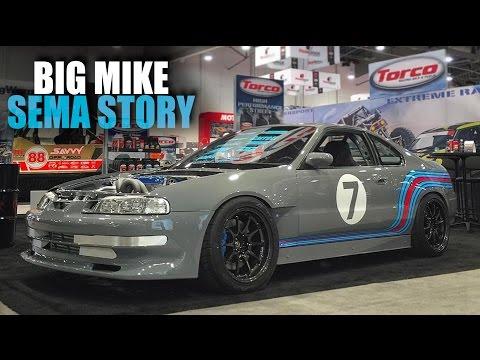 BIG MIKE'S HONDA PRELUDE - SEMA BATTLE OF THE BUILDER STORY