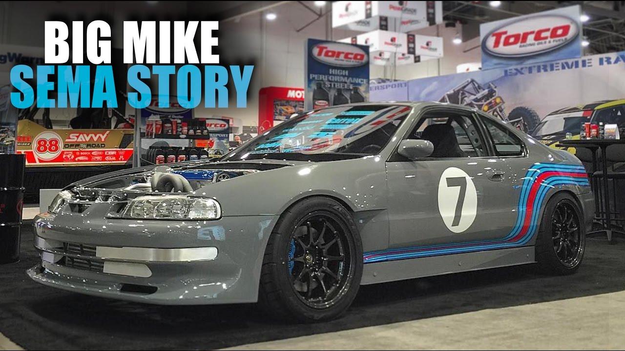 Big Mike S Honda Prelude Sema Battle Of The Builder Story Youtube