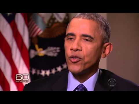 WOW Obama gets BUTTHURT and ANGRY at Steve Kroft for pointing out how Putin is EMBARRASSING him