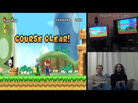 Online Multiplayer Mod for New Super Mario Bros. Wii by MrBean35000vr and Chadderz! - 동영상