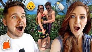 PREGNANT IN HAWAII REACTIONS!
