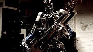 Hindi Rock - Punkh Feat. Compressorhead (The Robot Band)