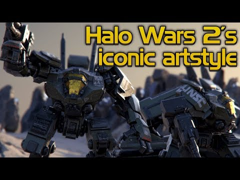 Halo Wars 2's iconic art style has improved