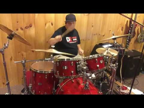 """Ian Koeller playing """"Swung Sixteenth's Pop"""" from Survival guide for the modern drummer by Jim Riley"""
