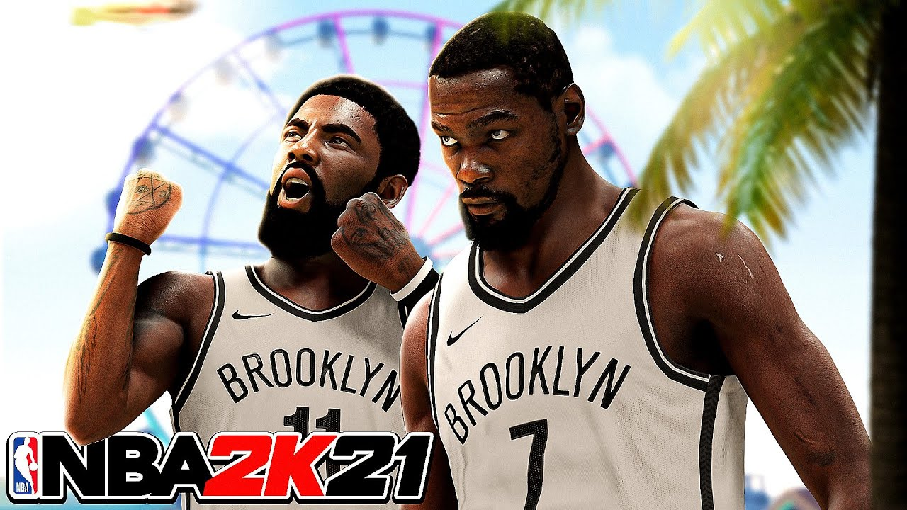 99 OVR KEVIN DURANT and KYRIE IRVING are ONE of a KIND in NBA 2K21