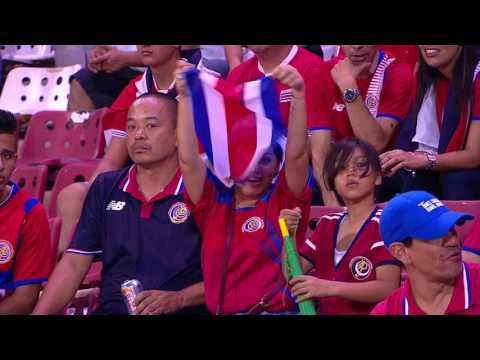 Full Match Highlights - Trinidad and Tobago versus Costa Rica.