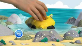 Octonauts Gup-d Vehicle With Barnacles And Manta Ray Figures