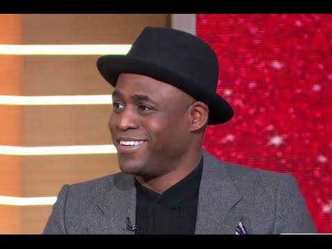 Wayne Brady FREESTYLES LIVE on GMA, Talks 'Kinky Boots'