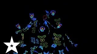 """Светошоу от коллектива """"Infanlim"""" - Україна має талант-6 - Кастинг во Львове"""