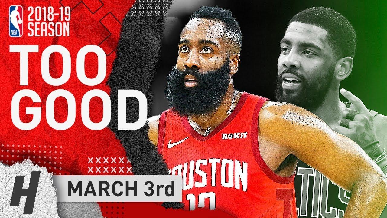 62810f517d6 James Harden SHOWS Kyrie Irving MVP Level! Full Highlights Rockets vs  Celtics 2019.03.03 - 42 Points