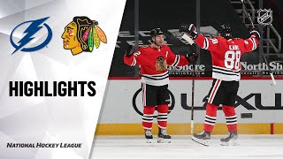 Lightning @ Blackhawks 3/5/21 | NHL Highlights