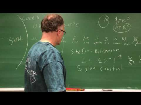 Learn to Calculate Earth's Equilibrium Temperature