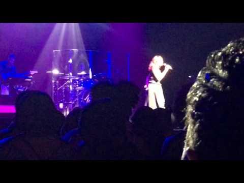 Traci Braxton Last Call at Toni Braxton concert ATL