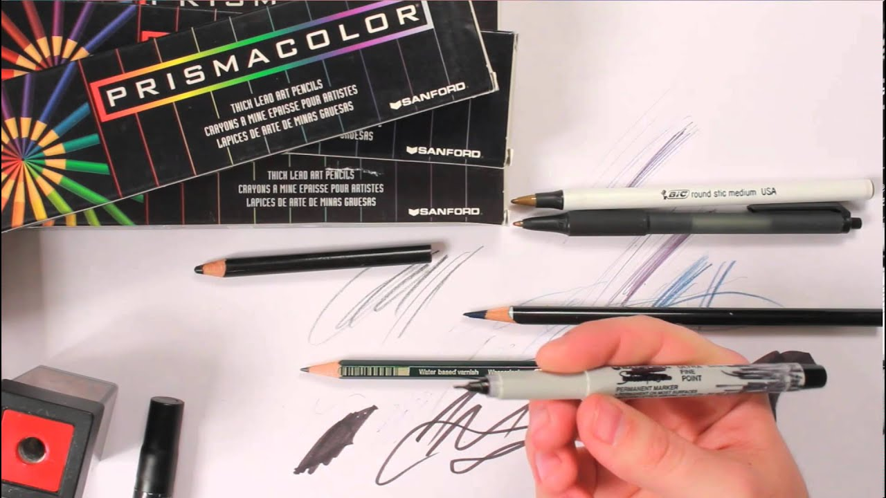 Car Design: Initial Sketching Tools and Media - YouTube