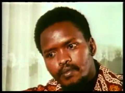 Bantu Steve Biko- Architect of Black Consciousness Manifesto- rare TV interview