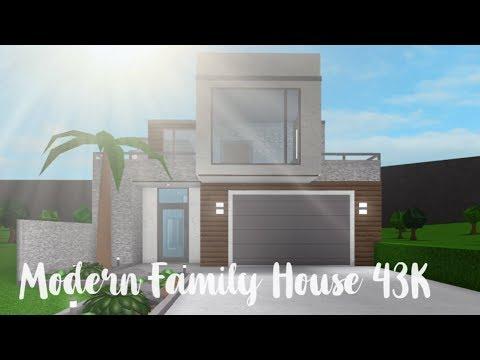 Bloxburg Modern Family House 43k