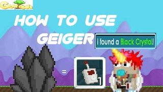Growtopia - How to use Alive Geiger/Dead Geiger