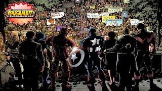 videocomic vengadores desunidos avengers disassembled historia completa