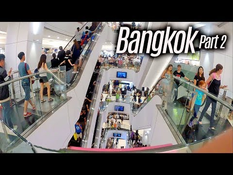 "Bangkok Shopping Mall - ""Window Shopping"" at Bangkok Shopping Mall Tour"