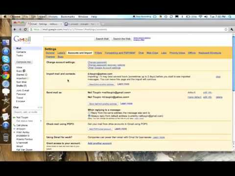 Importing Email into Gmail