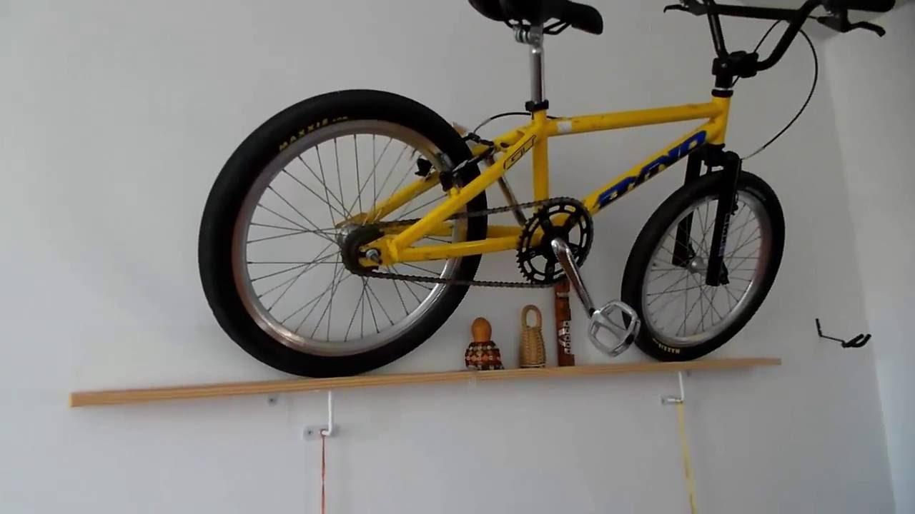 5a2b6fdd9 Como prender bicicleta na parede da sala com estilo! - YouTube
