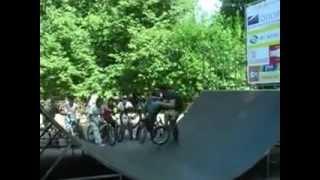 Открытие скейт парка в городе Кольчугино