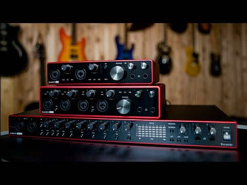 Focusrite Scarlett Gen 3 Audio Interfaces - Product Features And Specifications