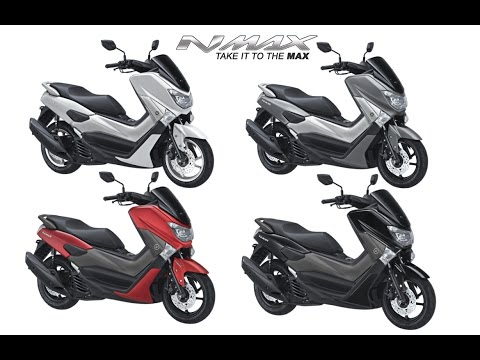 Empat Pilihan Warna Yamaha Nmax Abs Youtube