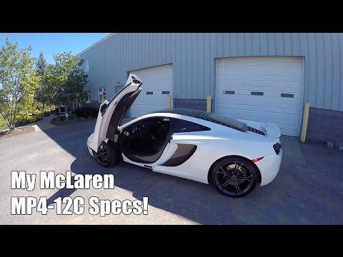 A Tour of My McLaren MP4-12C!
