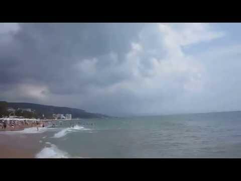 Болгария  Золотые пески  . На пляже-2016. июнь