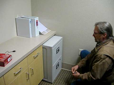 SENTRY SAFE FIREPROOF LOCKING FILE CABINET BS!!   YouTube