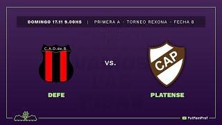 Defensores de Belgrano 0 - 2 Platense | #VamosLasPibas | Fútbol femenino