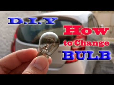How To Change Backlight or Stoplight Hyundai EON (DIY)