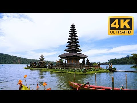 Bali Relaxation  Floating Temple 4K