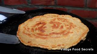 Milky Paratha   Doodh Wala Paratha by Mubashir Saddique   Village Food Secrets